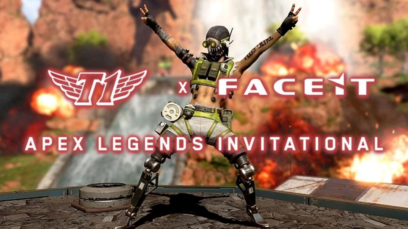 賞金25,000ドルのT1 x FACEIT Apex Legends Invitationalが開催決定!