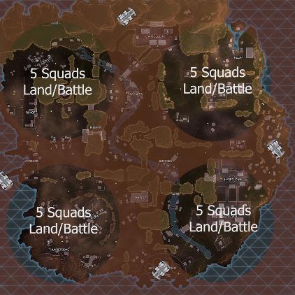 【どう思う?】5部隊毎に降下ポイントを分けるゲームモード