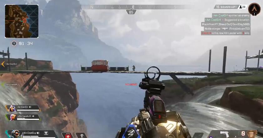 滝口の近くでパスファインダーと戦ってはいけない理由