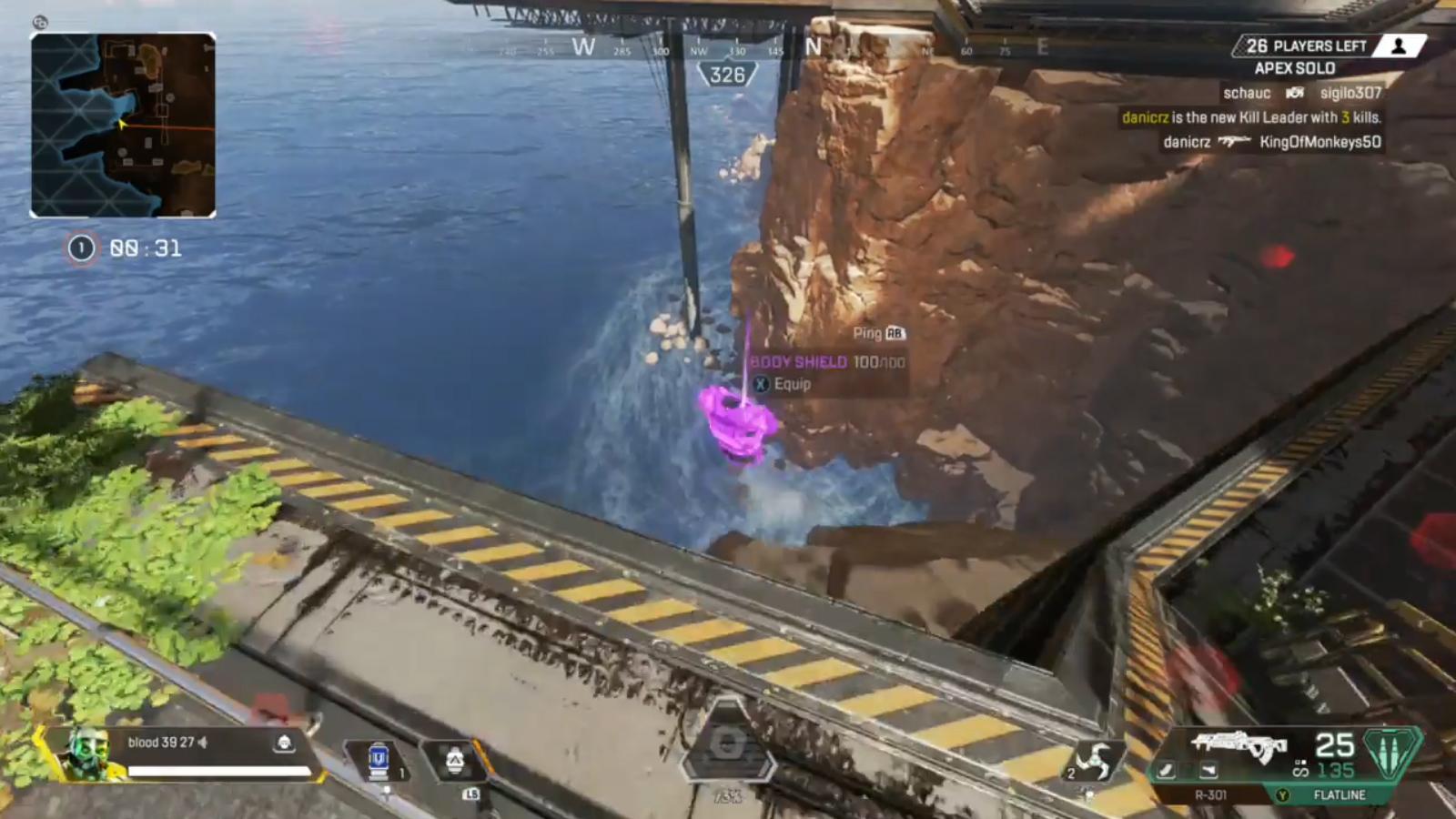 【悲しい】余りの紫アーマーを海に捨てた結果・・・