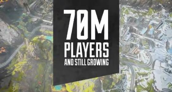 【速報】エーペックスレジェンズの合計プレイヤー数が7,000万人を突破!!