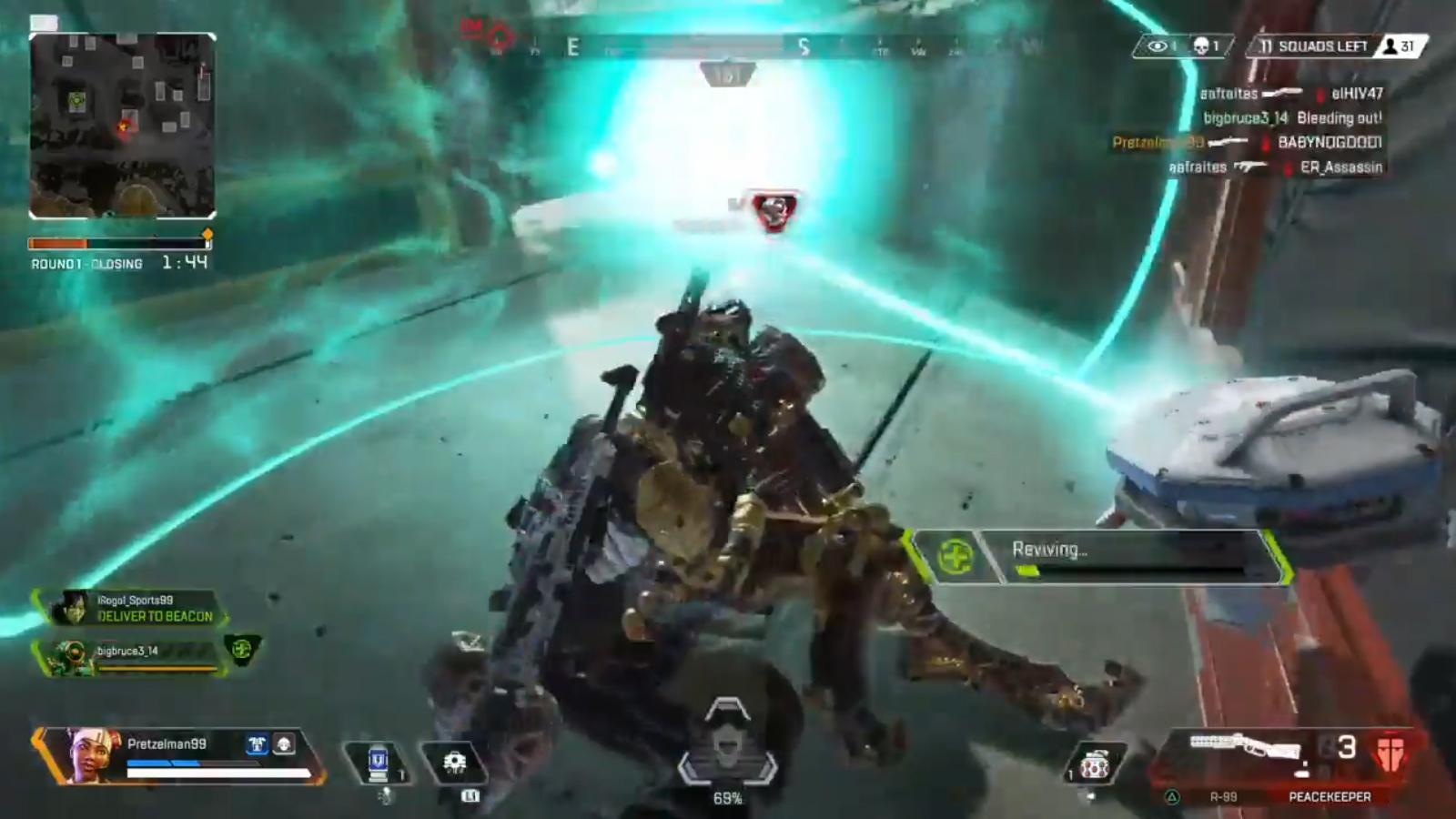 【これは上手い】ライフライン1人で敵部隊を壊滅させるスーパープレイ!!