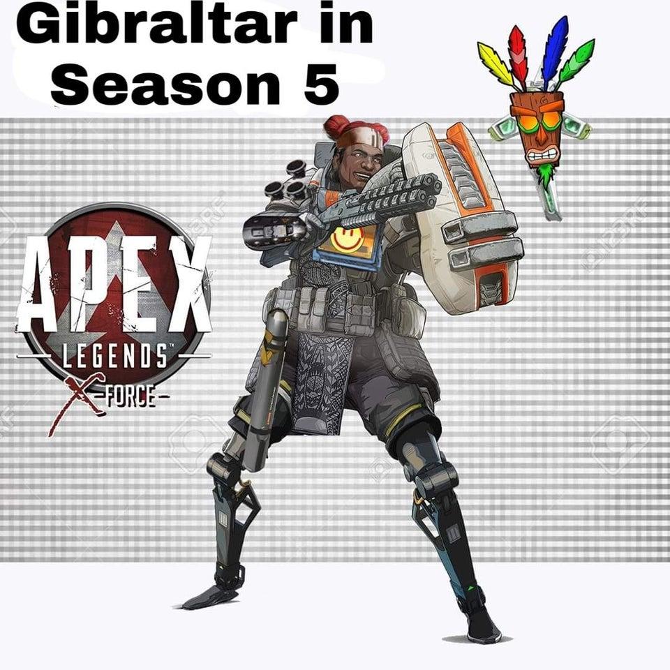 武器 ジブラルタル