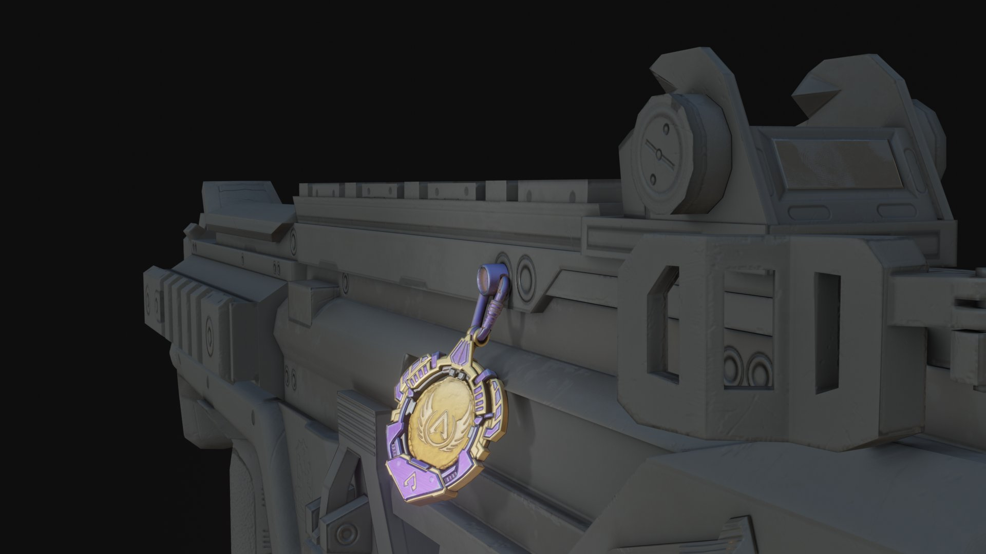 【APEXリーク情報】次のランク報酬(武器チャーム)がリーク!!→これはカッコイイかも!?