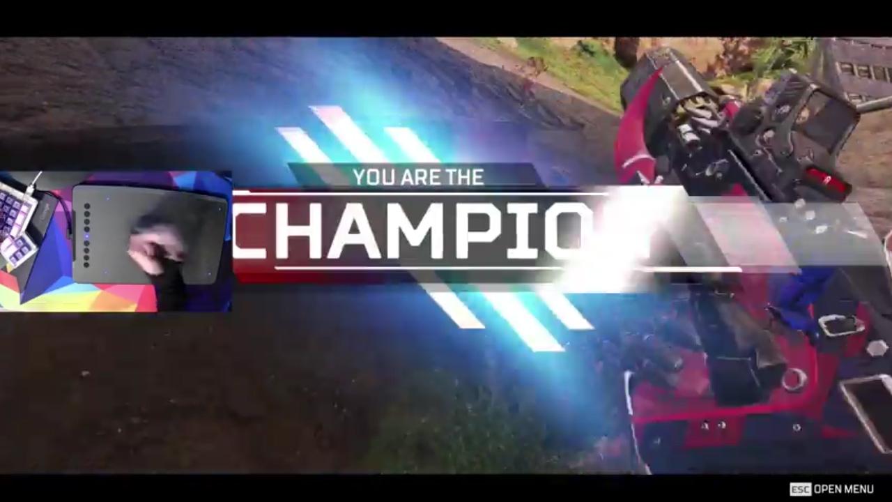 【!?】エーペックスを「ペンタブ」でプレイしチャンピオンを取る変態海外プレイヤー現るwww