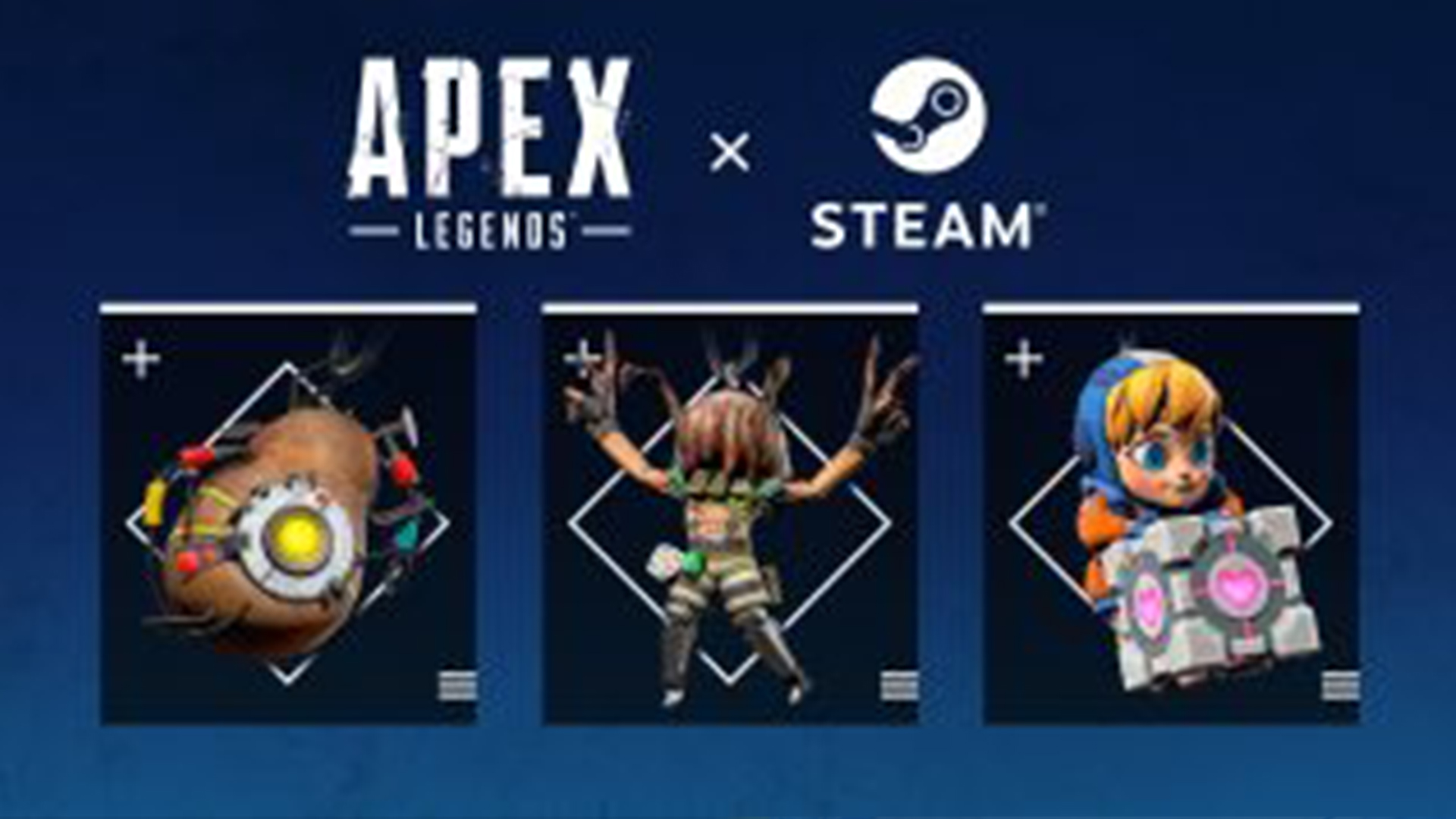 【速報】APEX公式から「Steamとのコラボ武器チャーム動画」が公開!!