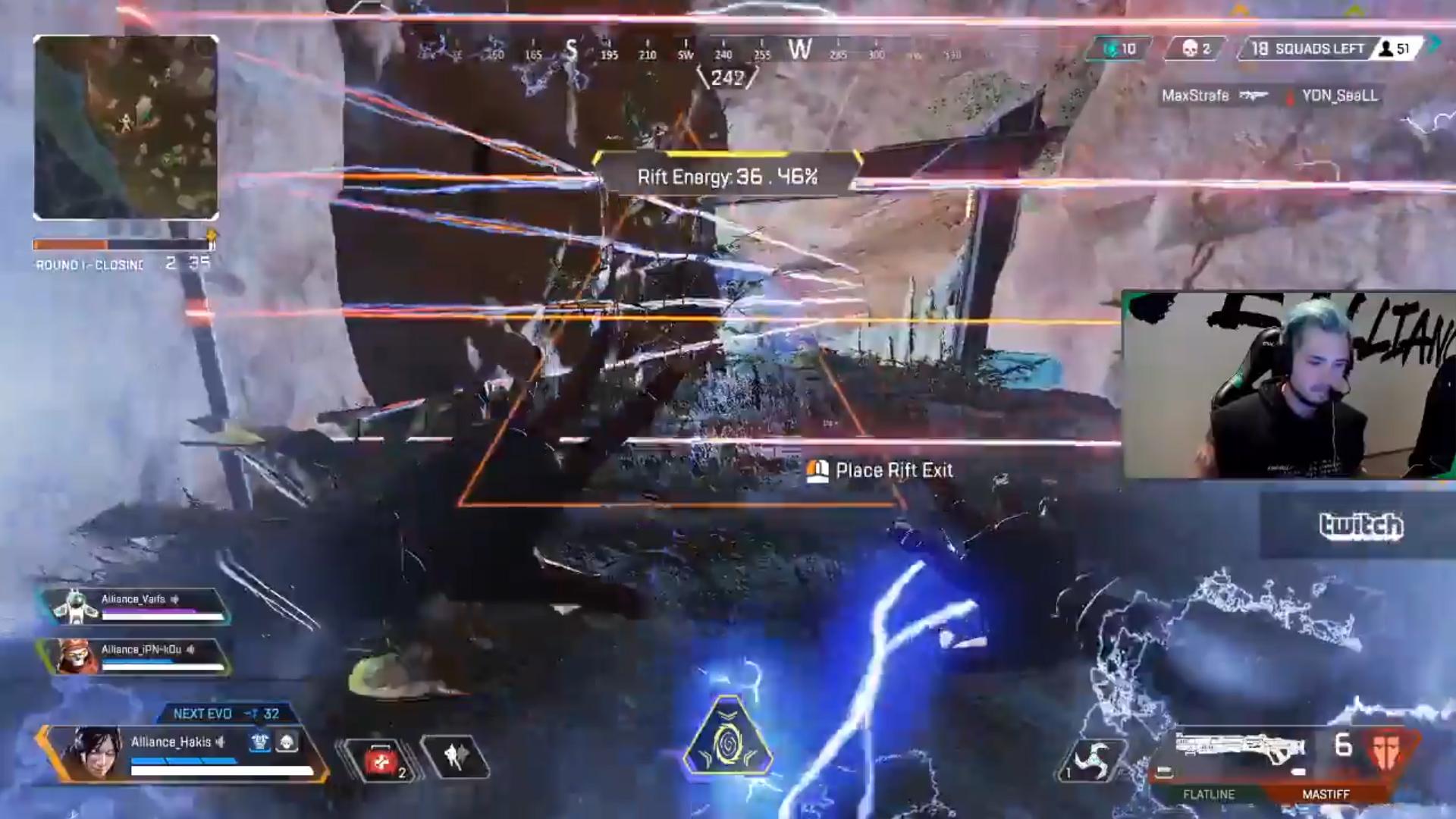 【APEX】EMPドローンで動きが遅くなった敵を「パンチ」でポータルに無理やり入れるゴリ押し戦法
