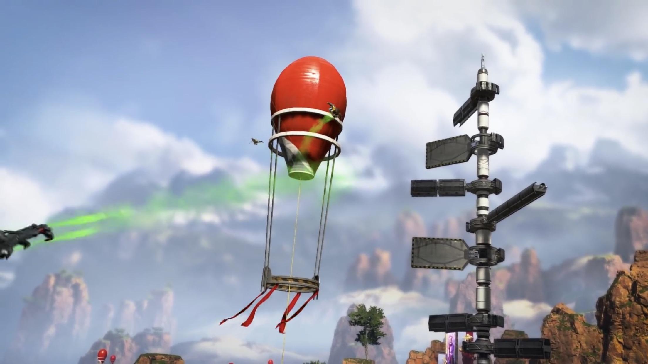 【APEX】ワールズエッジにある「ジャンプタワー」で飛べる範囲をまとめた画像がコチラ!