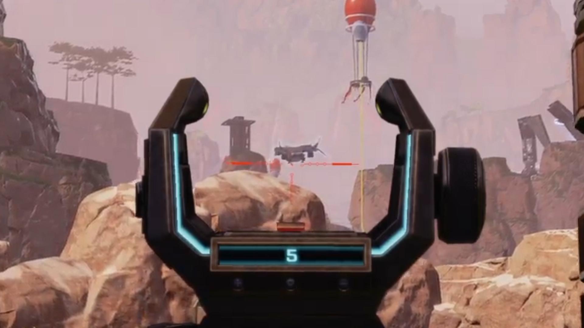 リスポーンしている敵を遠距離センチネルで撃ち抜いた時の海外APEXプレイヤーの反応