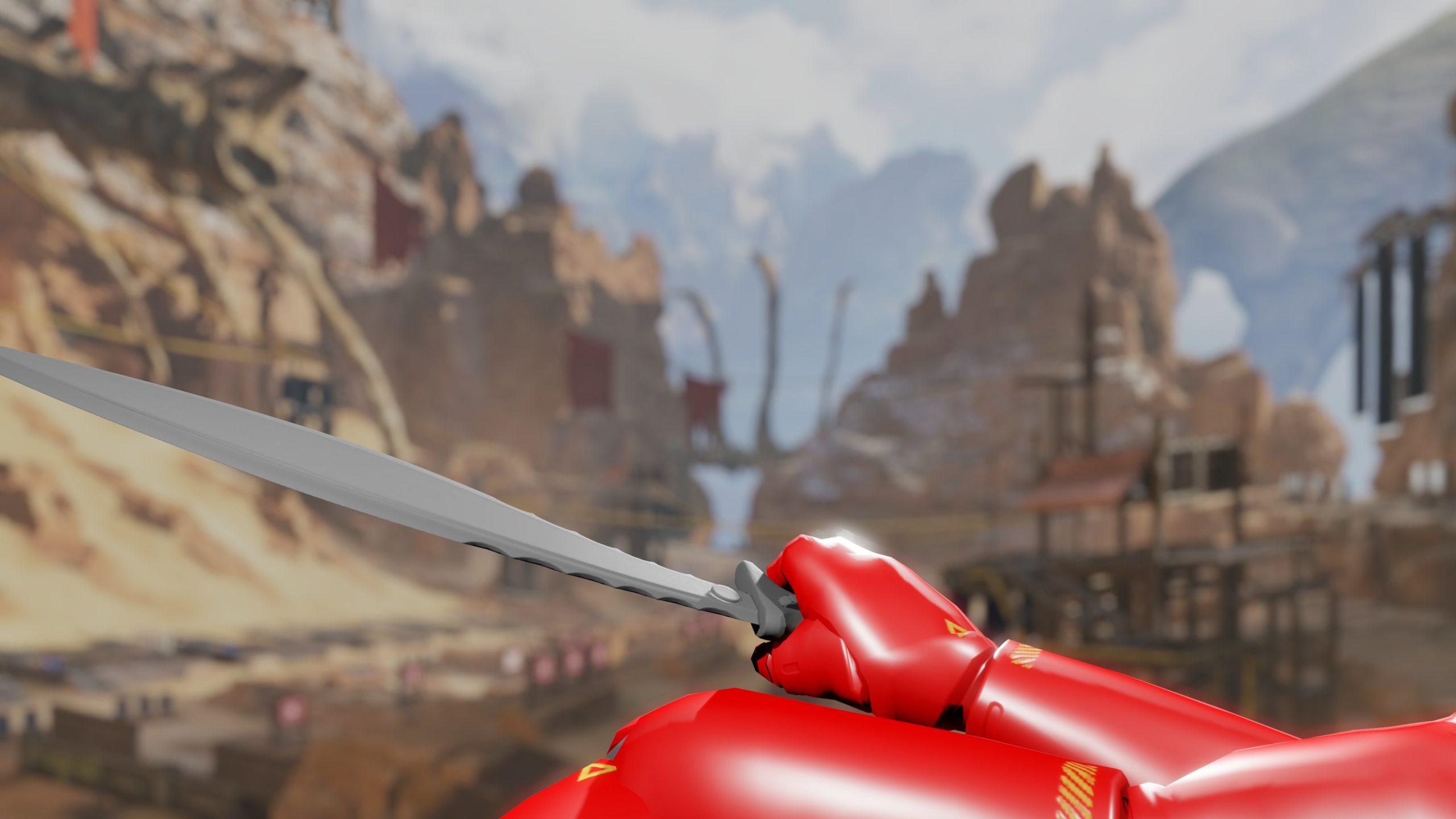【!?】APEX最新アプデでゲームファイル内に「アッシュ」の剣が追加される