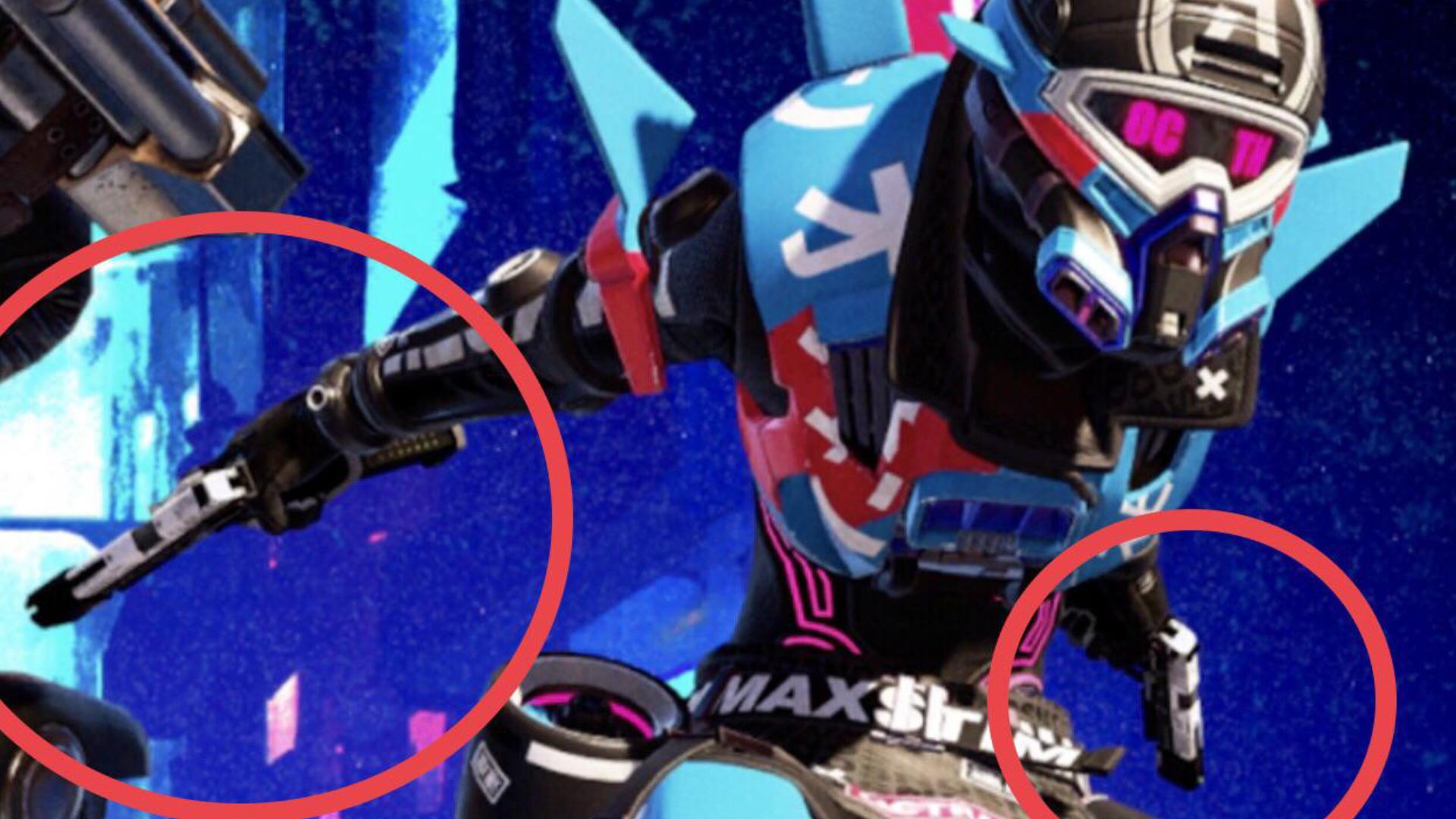 【!?】APEX公式画像のオクタンがRE-45を「デュアル」で持っている