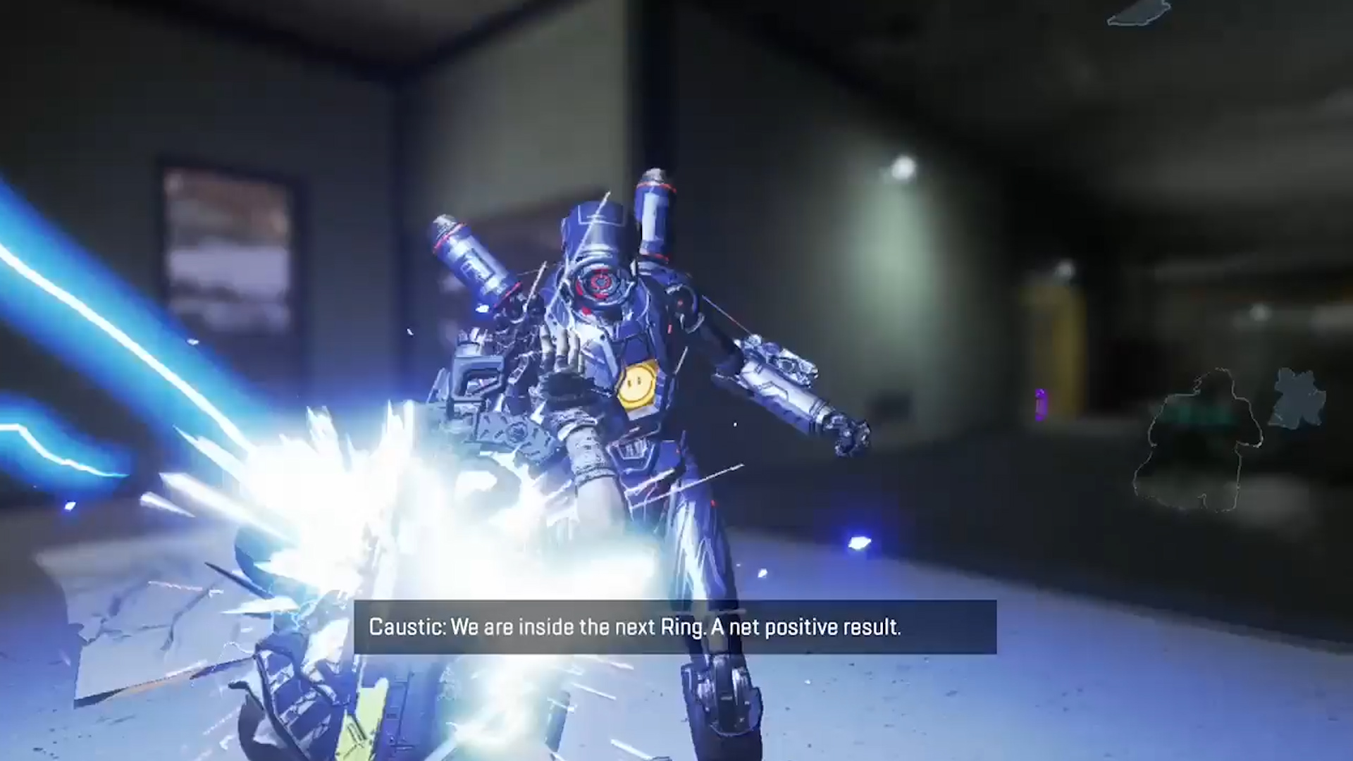 【APEX】アークスターの爆発タイミングが完璧過ぎて電気攻撃に見えるフィニッシャー