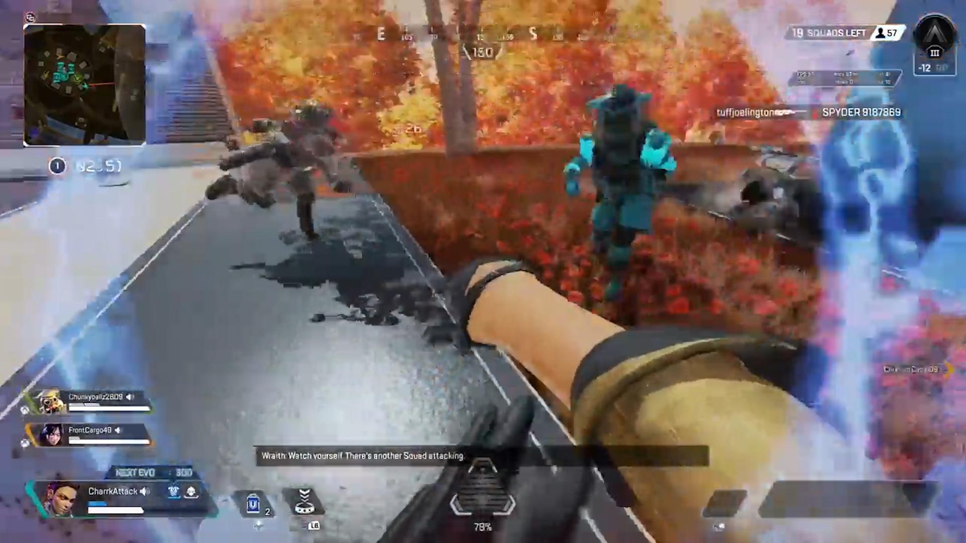 【APEX】拳のみで敵部隊3人を倒すローバ