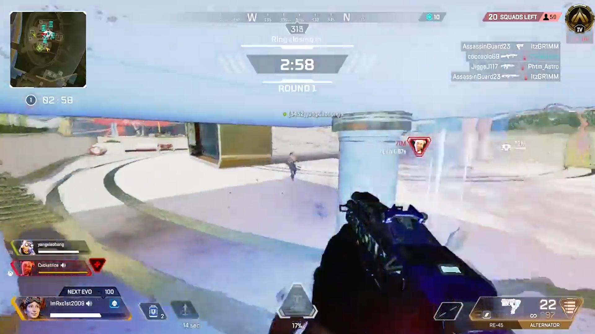 【APEX小技】ホライゾンのグラビティリフトは「天井がある場所」で使うと弾を避けやすい