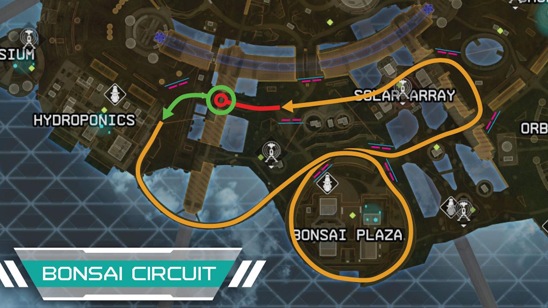【APEX】新マップで乗り物「トライデント」を使ったレースイベントが主催されるwww