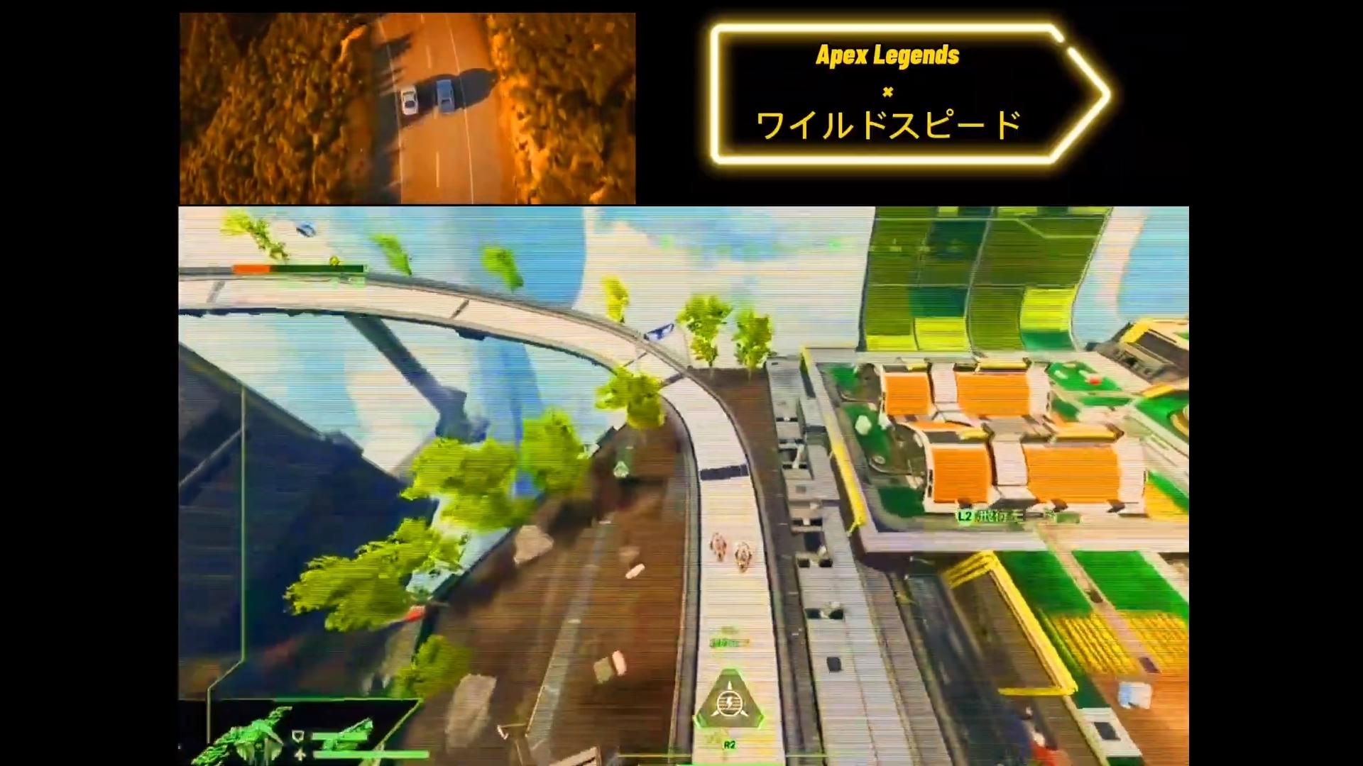 【APEX】映画「ワイルド・スピード」の感動シーンをトライデントで再現するファン現る!?