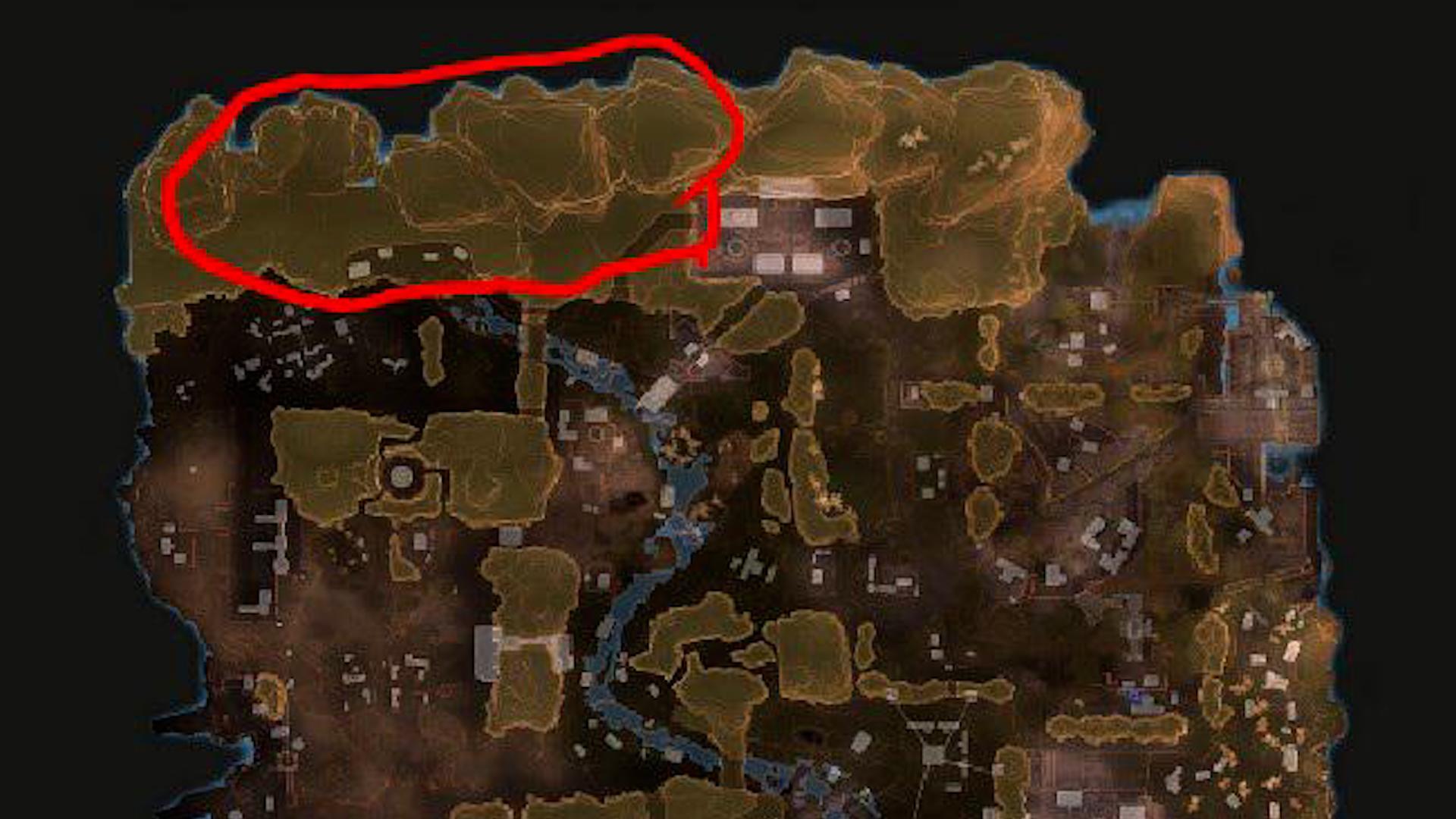 【APEX】新しいキングスキャニオンはこの岩の部分がエリアになるかも??