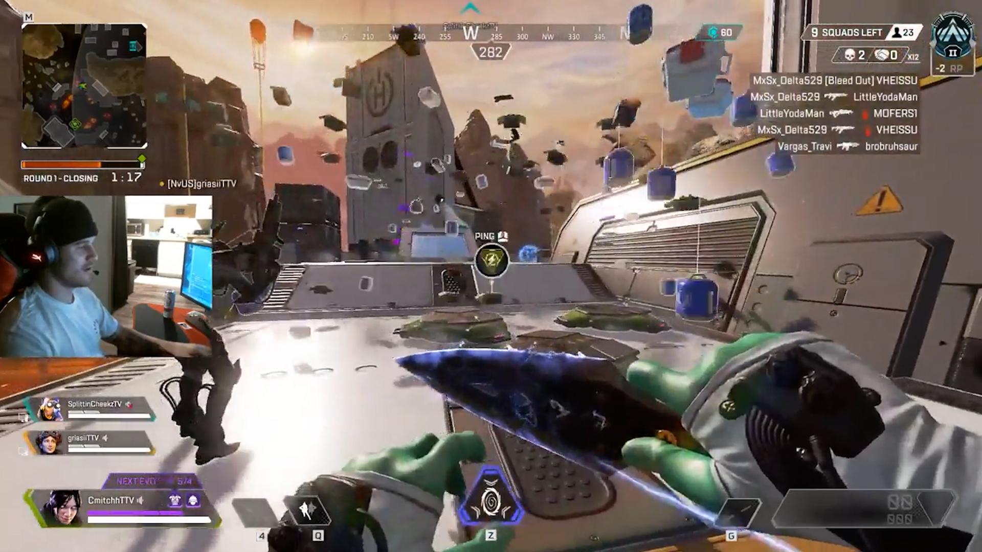 【APEXバグ】アイテムが楽しそうに飛び跳ねるバグ映像
