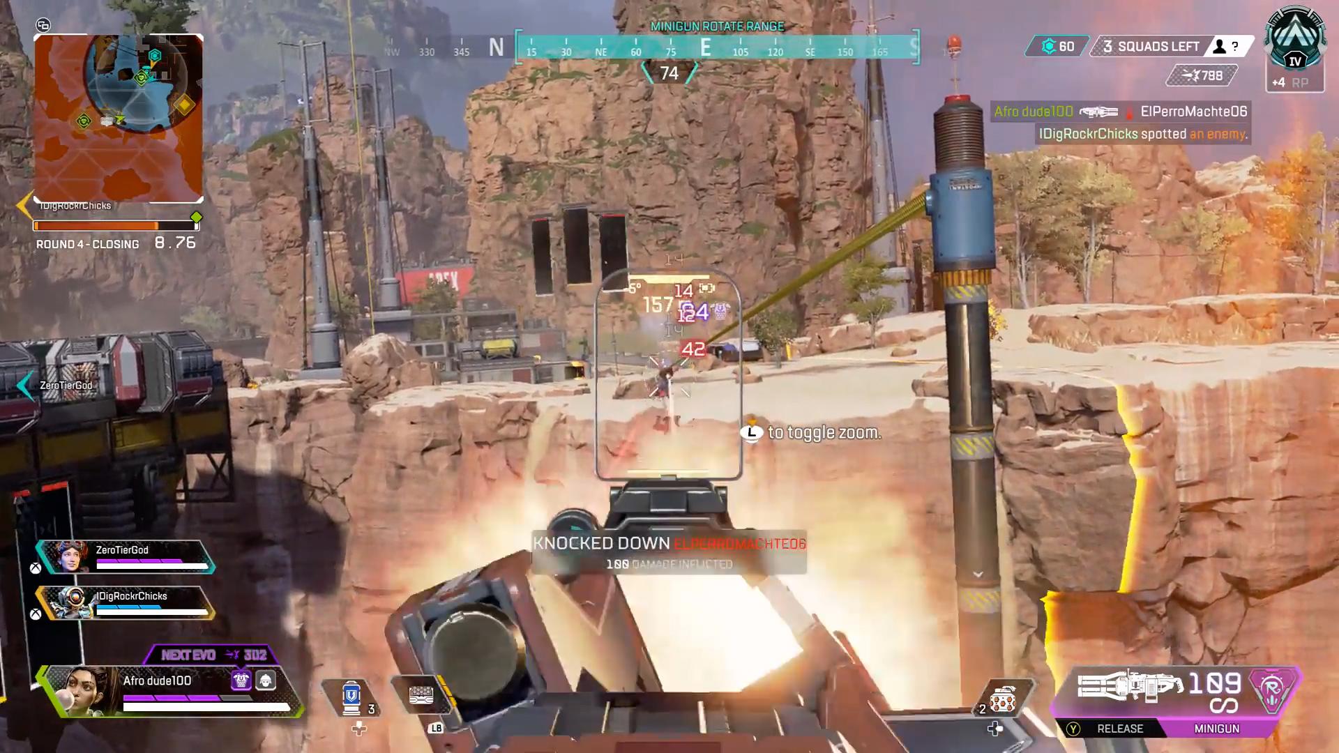 【APEX】ミラージュボヤージュに居るランパートを倒そうとした敵部隊が一瞬で・・・