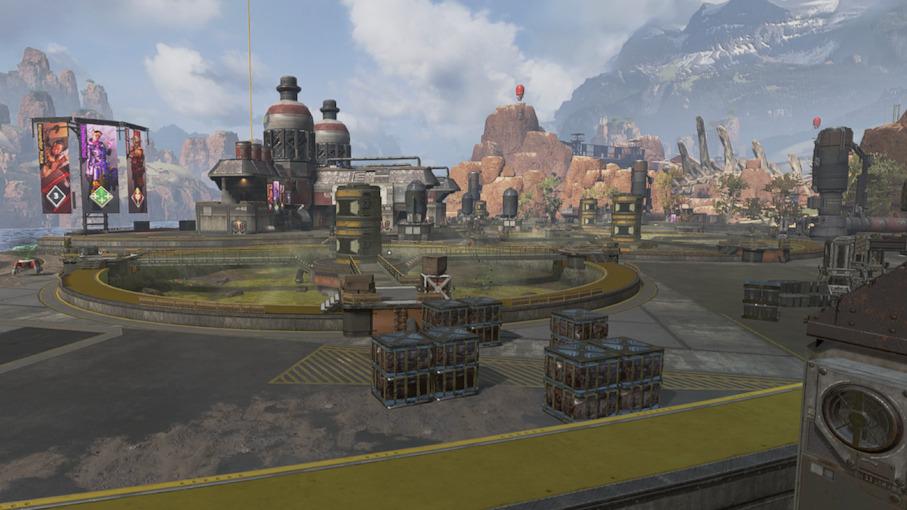 【APEX】次の街乗っ取り場所はキングスキャニオン「水処理施設」、街を乗っ取るキャラクターは「コースティック」とのこと
