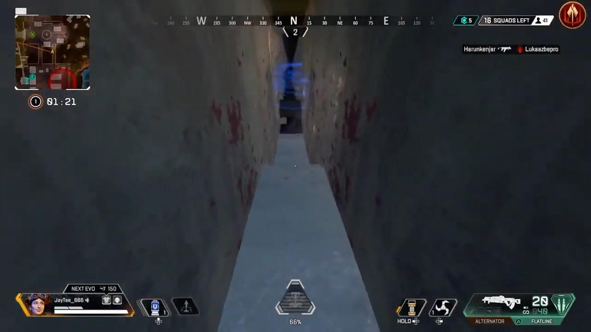 【APEX】ハイドロダムとリパルサーの間にある「橋の下」にホライゾン専用の隠れポジションがあることが発見される