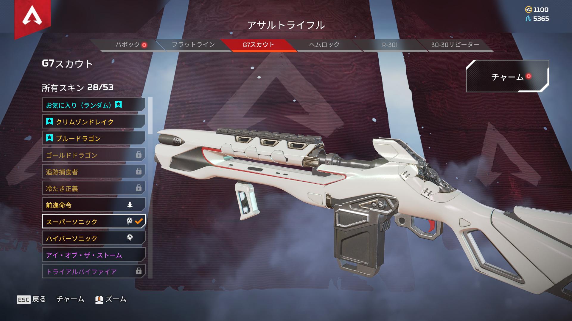 【APEX】G7スカウト「スーパーソニック」はスキン製作者の『車』が元のモデルになっている