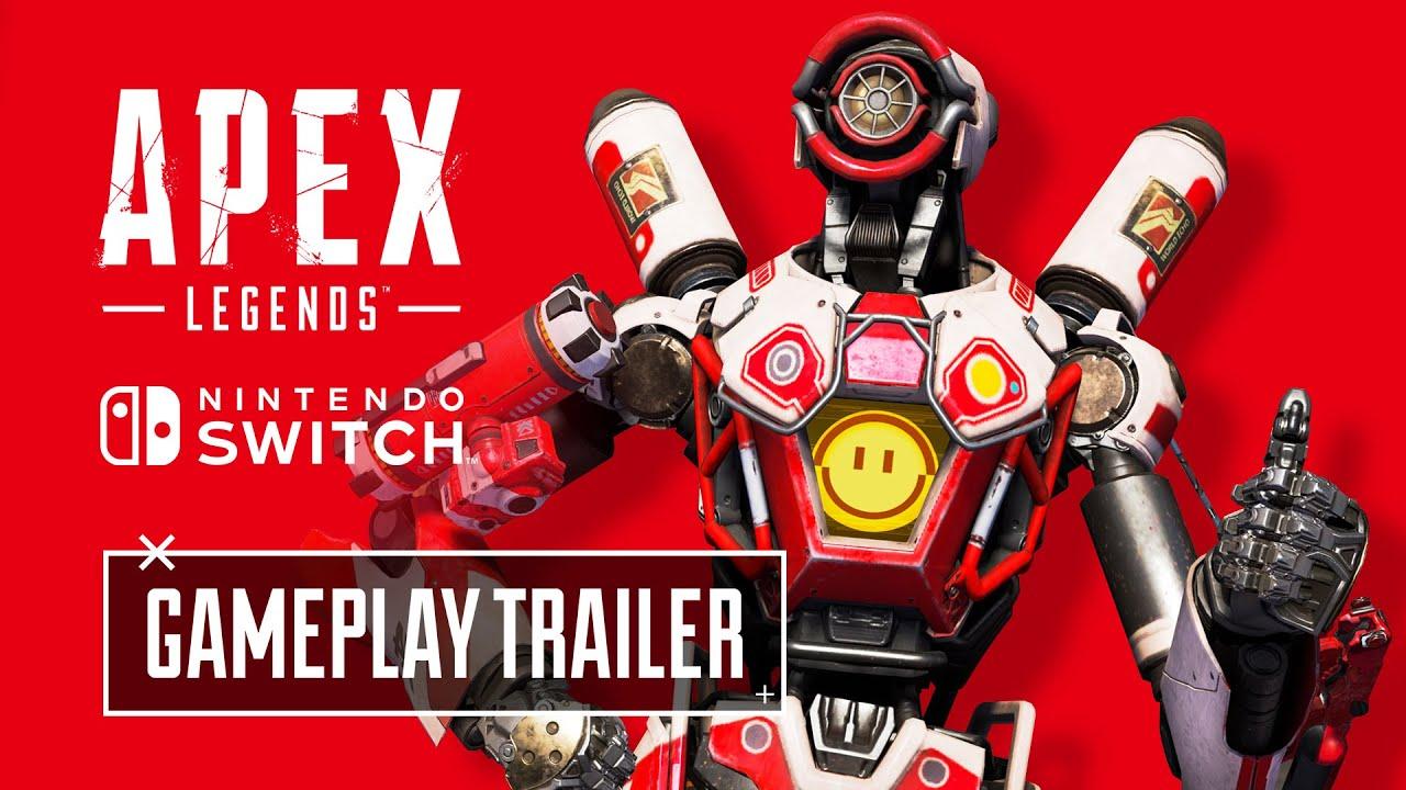 【速報】任天堂Switch版エーペックスレジェンズの公式トレーラーが公開されたぞ!!
