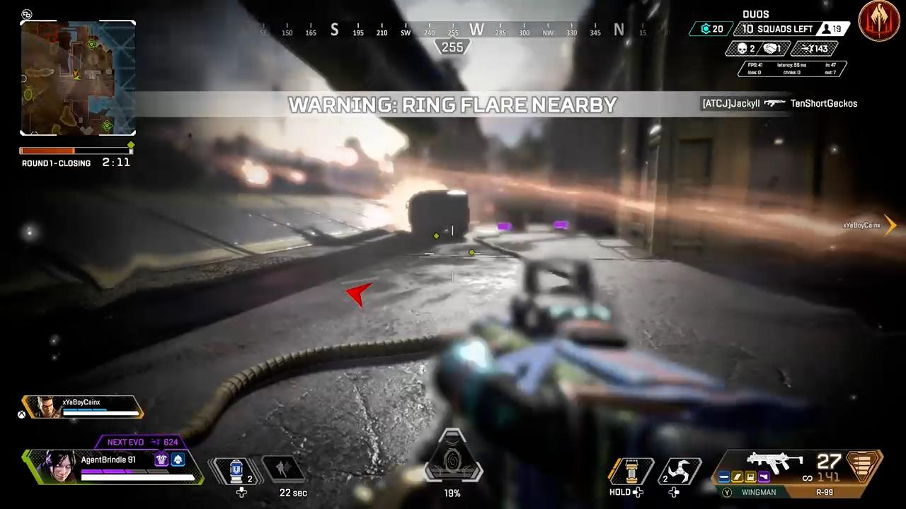【APEX】ジブラルタルの防衛爆撃が横から降ってくるバグ映像