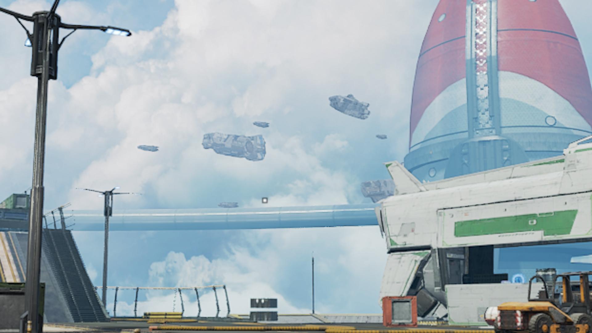 【APEX】オリンパスのマップ上空に「大量の船」が浮かんでいることが確認!!→シーズン9の伏線か!?