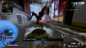 【APEX】エモート移動で敵部隊に突撃して弾避けするオクタン