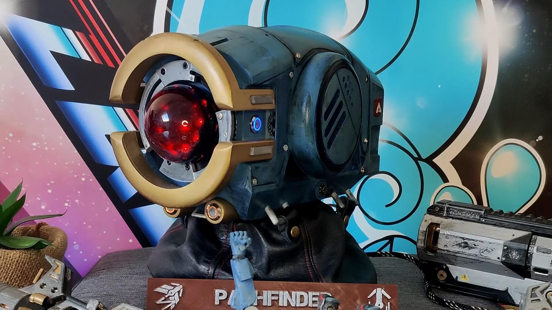 【APEX技術部】パスファインダーの頭を3Dプリンターで作るファン現る!?