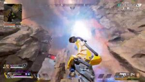 【APEX】ウルトで飛び立とうとした敵ヴァルキリーを「キック」で撃ち落とすパスファインダーさん