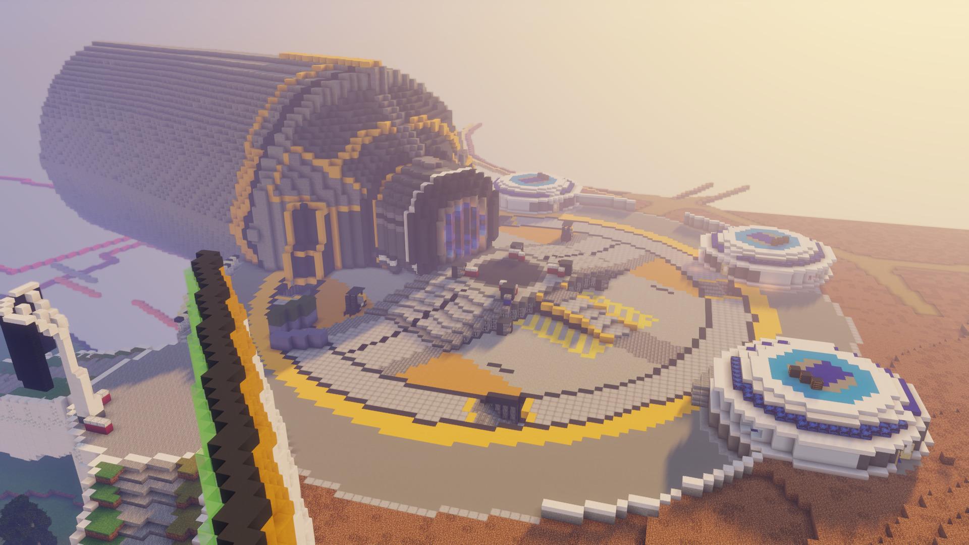 【凄い】マインクラフトでオリンパスの「フェーズランナー」を作ってみた