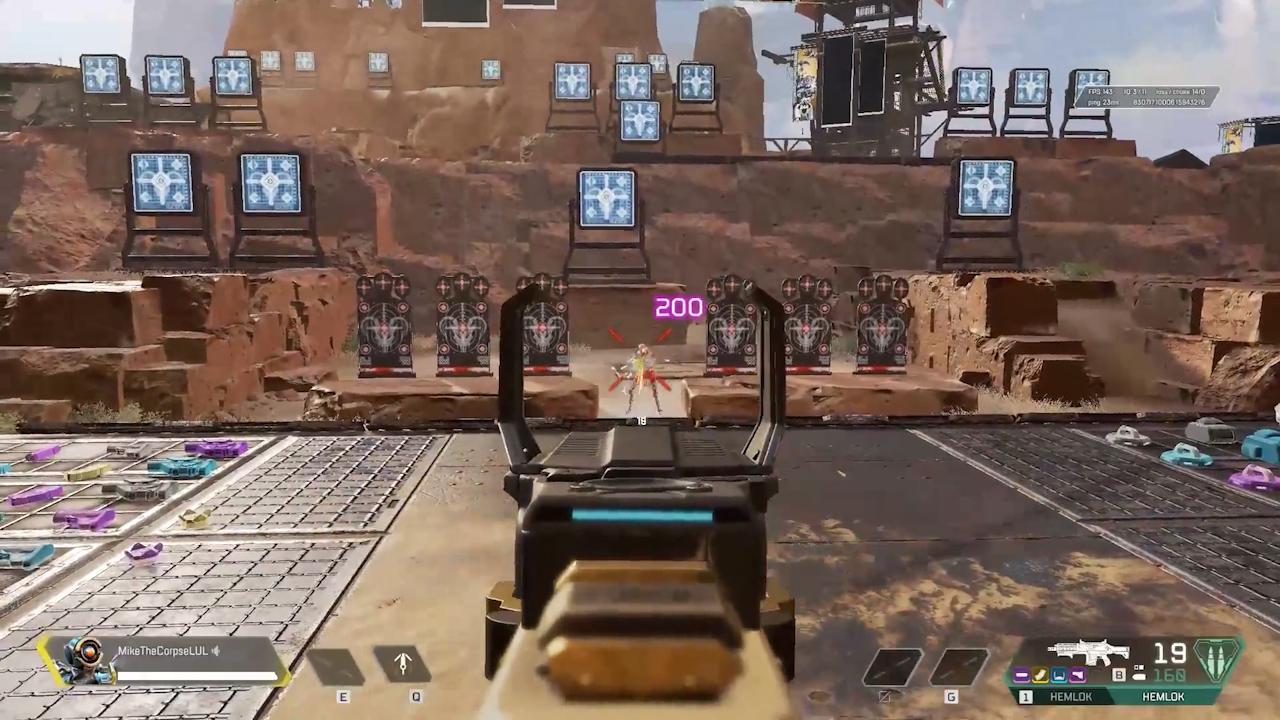 【APEX小ネタ】射撃ボタンをマウススクロールにするとヘムロックがフルオートになる