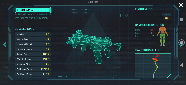 【APEX】モバイル版エーペックスの銃詳細ページの作り込みが凄すぎると話題にwww
