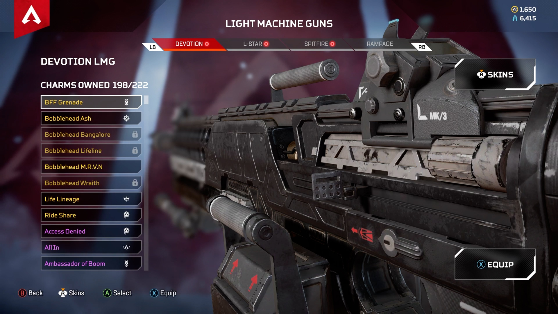 【APEX】武器チャームの「絞り込み機能」が欲しくなる動画