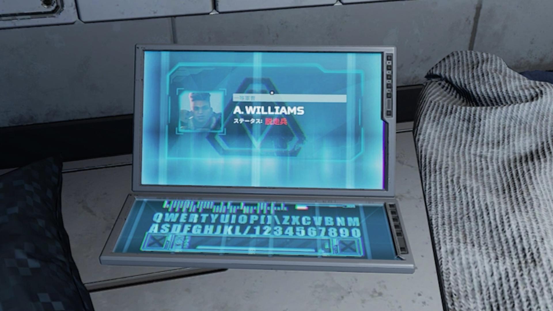 【APEX】「シーズン11」のヒント!?バンガロールで「パラシュートポッド」の中にあるパソコンを起動すると・・・【オリンパス】